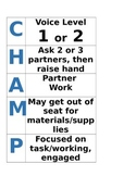 Champs Poster for Partner Work
