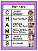 Champs Posters (Bright Colors)