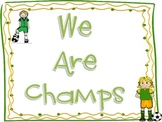 Champs Sign Soccer Theme