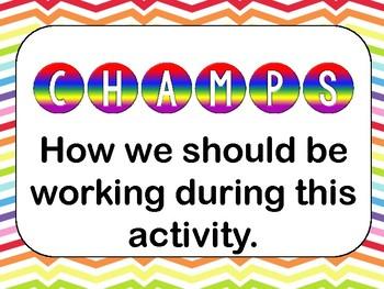 Champs clip chart bundle