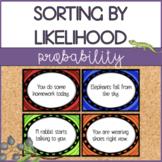 Probability Cards - Sorting by Likelihood