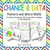 Chance & Data Posters and Word Walls