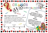 Chance and Probability Learning Intention Poster
