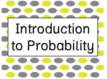Chances Are: An Introduction to Probability