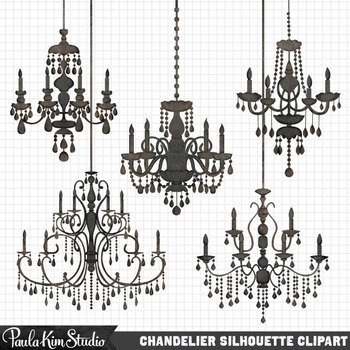 Clipart - Chandeliers