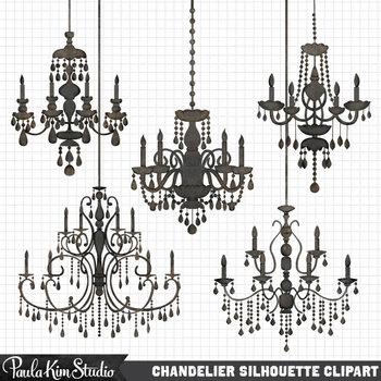 Clipart - Chandeliers