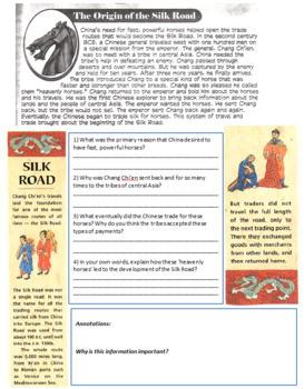 Chang Chi-en (Zhang Qian) - His Journeys to the West & Origins of the Silk Road