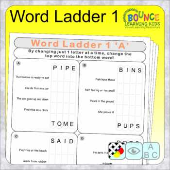 Change One Letter (13 distance learning worksheets for Literacy)