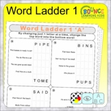 Word Ladder 1 (change one letter to make a new word distan