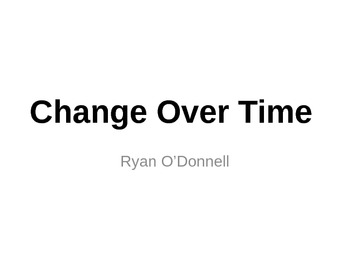 Change Over Time lesson