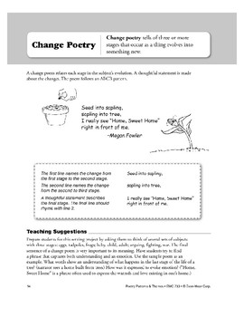 Change Poetry