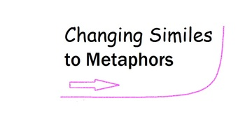 Change Similes to Metaphors