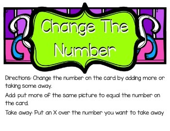 Change The Number