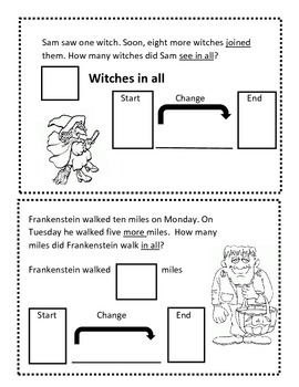 Change To More Halloween Book : Everyday Math
