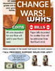 Change War Fundraiser Poster