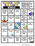 Healthy Habits: Change Your Bad Habits Bingo