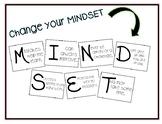 Change Your Mindset Bulletin Board Set