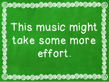 Change Your Musical Mindset Bulletin Board & Posters