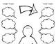 Growth Mindset & Positive Self Talk Graphic Organizers