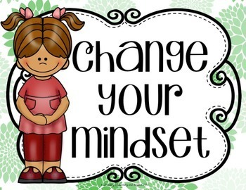 Change Your Words, Change Your Mindset {Posters to Encourage Growth Mindset}
