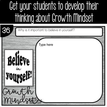 Chalk Change Your Words, Change Your Mindset Posters {Set 2}