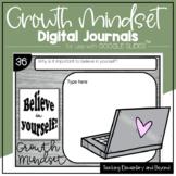 GOOGLE Classroom™ Paperless Growth Mindset Journals for Di