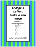 Change a Letter, Make a New Word
