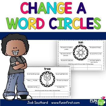 Change a Word Circles