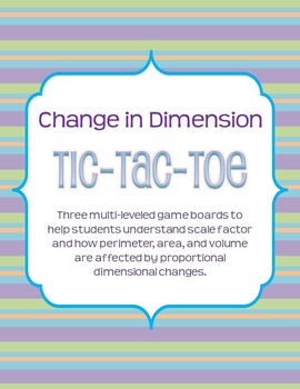 Change in Dimension Tic-Tac-Toe (Differentiated for Multip