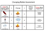 Change in Matter Assessment