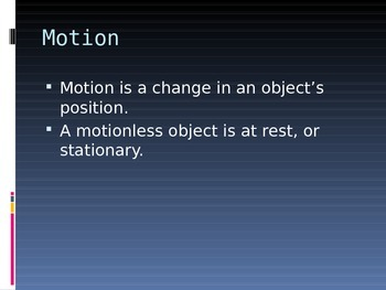 Change in Motion