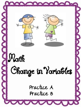 Change in Variables