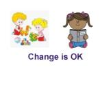 Change is Ok- Going to kindergarten