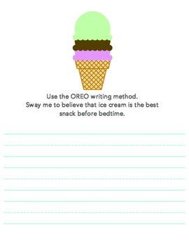 Change my mind - persuasive writing practice