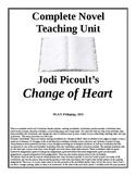 Change of Heart Teaching Unit. Jodi Picoult lesson plans, 149 pages.