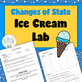 Change of State Lab- Ice Cream in a Bag