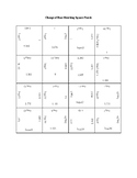 Change of Base Square Puzzle Activity
