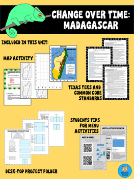 Change over Time: Madagascar Enrichment Unit for Gifted & Talented