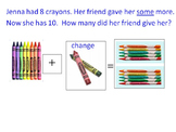 Change plus change minus story problems with pictures (add