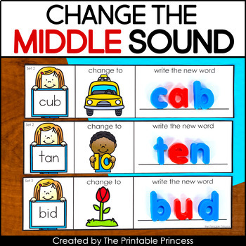 Change the Middle Sound | CVC Words