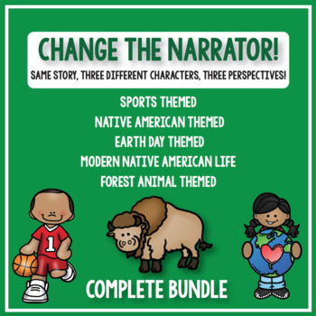Change the Narrator! Creative Writing Bundle