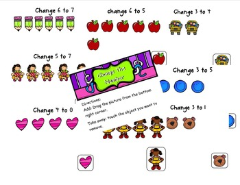 Change the Number SmartNotebook lesson