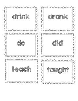 Change the Verb: Singular and Irregular Verbs