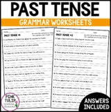 Change the Verb to Past Tense - Worksheet Pack