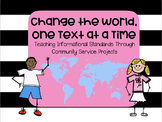 Change the World, One Text at a Time - Teaching Informatio