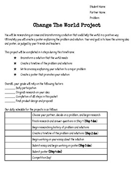 Change the World Research Project