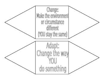 Change vs. Adapt Foldable