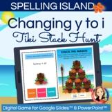 Change y to i Spelling Rule Digital Hunt Game