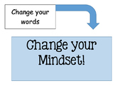 Change your WORDS .. Change your MINDSET