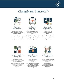 ChangeMaker Mindsets ™ Tool Kit